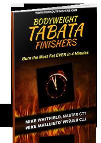Bodyweight Tabata Finishers